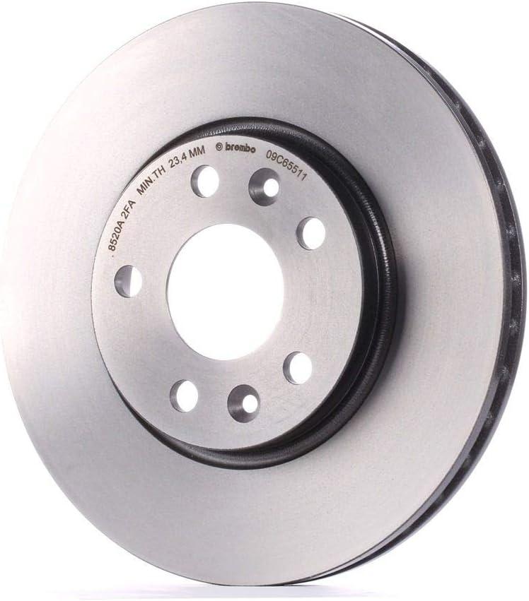 x2 BREMBO 09.C655.11 Bremsscheibe Scheibenbremsen Bremsscheiben