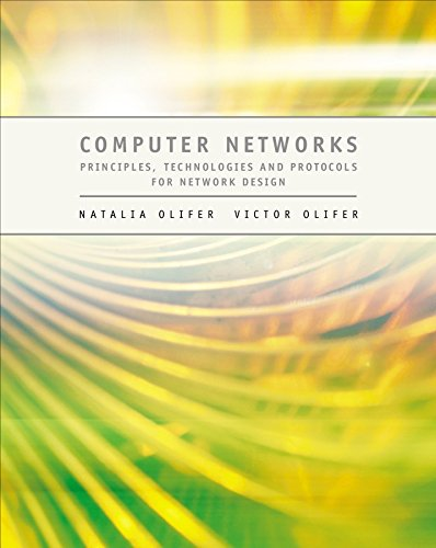 Computer Networks: Principles, Technologies and Protocols for Network Design