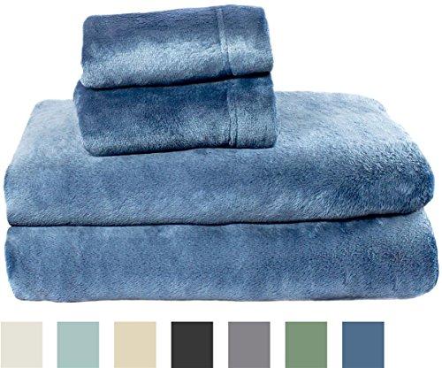 Cozy Fleece Inc Microplush Denim