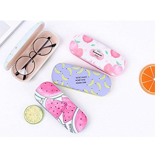 à de lunettes soleil lunettes Métal de Poire portables lunettes à Lunettes de dur sac protection Étuis de soleil GUBENM fruits étui PSq5wBxv