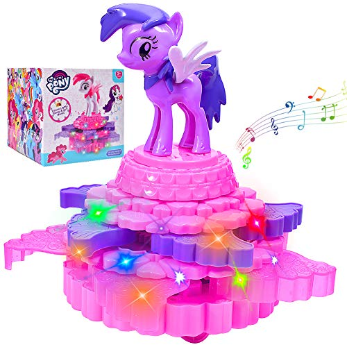 Richard Woods Musical Unicorn Toys, Singing and Moving Pegasus Pony Electronic Toys (No Included Batteries) ()