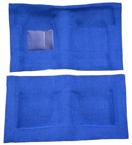 laxie Carpet Replacement Kit, 2 Door Hardtop and Sedan Automatic (558-Charcoal 80/20 Loop) (Ford Galaxie Carpet 2 Door)