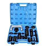 8milelake Universal 21PCS Ball Joint Repair Service Removal Tool Kit Remover Installer Master Adapter Set