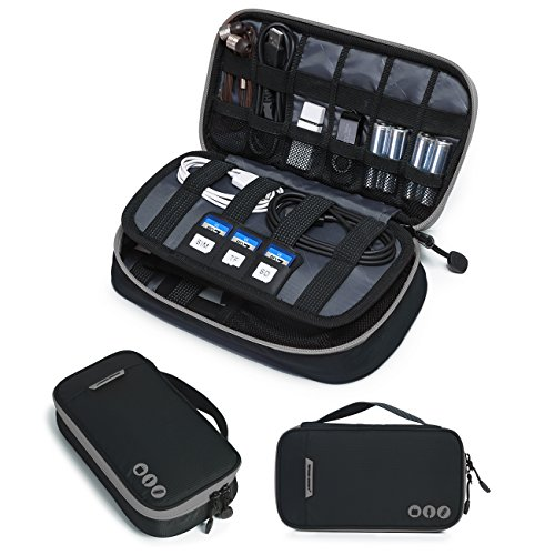 BAGSMART-Travel-Electronic-Accessories-Thicken-Cable-Organizer-Bag-Portable-Case