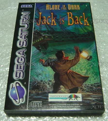 Alone In The Dark Jack Is Back Sega Saturn Pal Amazon Co Uk