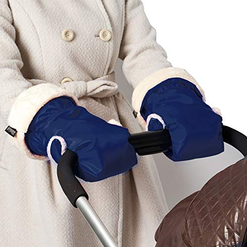 Where to find stroller hand muff navy?