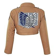 CG Costume Women's Attack on Titan Survey Corps TV Jacket Cosplay Costume
