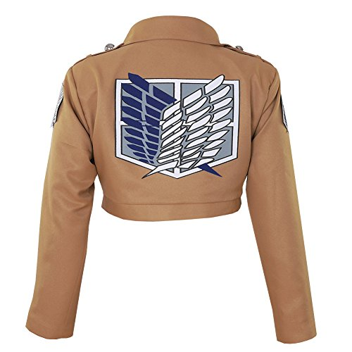 CG Costume Women's Attack on Titan Survey Corps TV Jacket Cosplay Costume