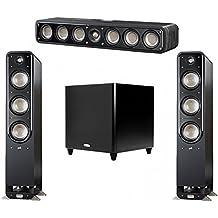 Polk Audio Signature 3.1 System with 2 S60 Tower Speaker, 1 Polk S35 Center Speaker, 1 Polk DSW PRO 660 wi Subwoofer