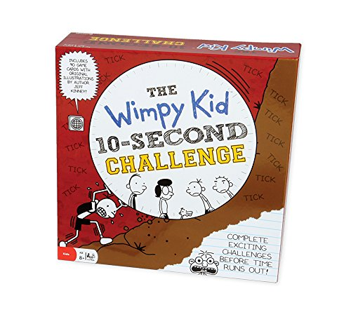 Pressman Diary of a Wimpy Kid 10-Second Challenge Card Game