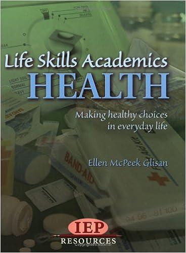 Life Skill Academics: Health: Ellen McPeek Glisan: 9781578614882 ...