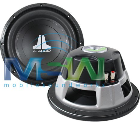 "10W0V3-4 - JL Audio 10"" Single 4-Ohm W0V3 Series Subwoofer"