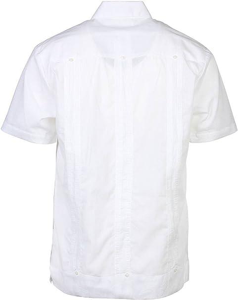Giancarlo - Camisa de vestir de manga corta y ligera: Amazon.es: Ropa y accesorios