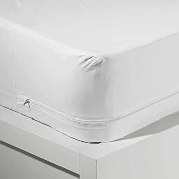 mainstays waterproof mattress pad Amazon.com: Mainstays Waterproof Zippered Vinyl Twin Mattress  mainstays waterproof mattress pad