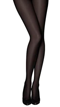 2a5b3e688d7 Pretty Polly 60 Denier Opaque Tights with Silk Finish (2 Pair Pack ...