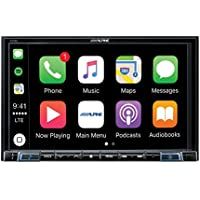 Alpine Electronics X208U MECH-LESS Dash System for Custom Installation or Use with Separate Alpine Vehicle-Specific Dash Kit, 8
