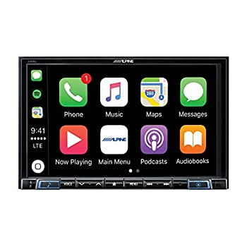 Image of Alpine Electronics X208U MECH-Less Dash System for Custom Installation or Use with Separate Alpine Vehicle-Specific Dash Kit, 8' Car Stereo Receivers
