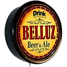BELLUZ Beer and Ale Cerveza Lighted Wall Sign
