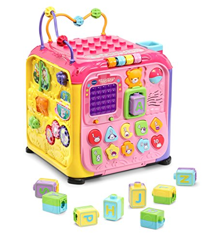 VTech Ultimate Alphabet Activity Cube, Pink (Activity Developmental Toy)