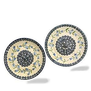 Polish Pottery SET of 2 Dessert Plates
