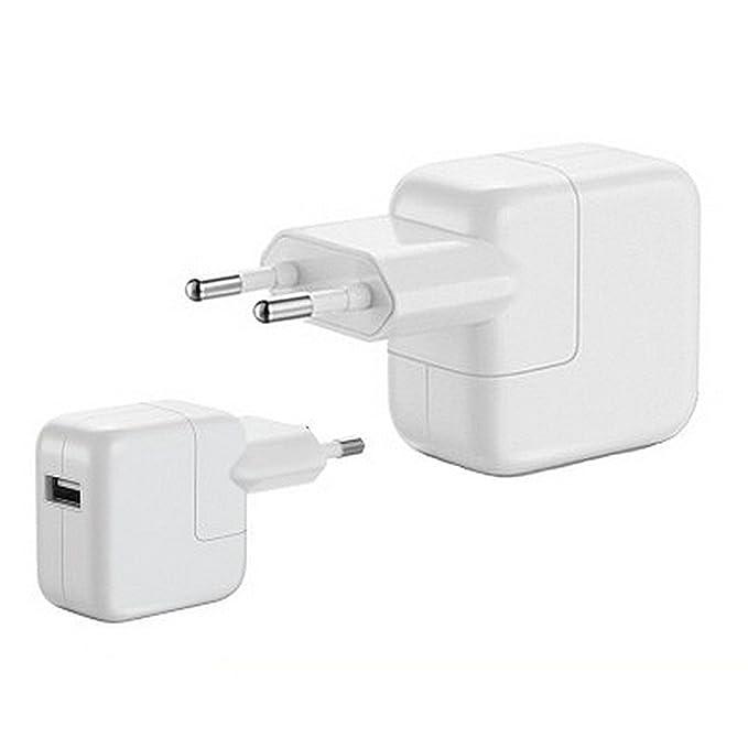 Lini 10 W + USB original Apple 10 W Cargador con conector Dock a USB de de cable (30 pines, 1 m) para iPad/iPhone/iPod, de 10 W de red USB Notebook ...