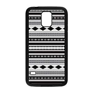 Custom Aztec Tribal Design Plastic Case Protector For Samsung Galaxy S5 by icecream design