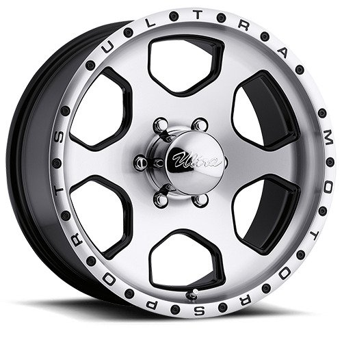 Ultra Rogue 15 Black Wheel / Rim 5×4.5 with a -19mm Offset and a 83 Hub Bore. Partnumber 175-5865B