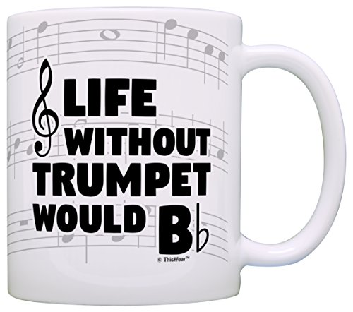 Funny Without Trumpet Instrument Coffee