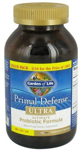 Primal Defense, Ultra, Ultra 216 Caps Zorbe Veggie
