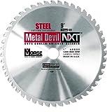 MK Morse CSM948NSC Metal Devil NXT Circular Saw Blade, 9-Inch Diameter, 48 Teeth, 1-Inch Arbor, for Steel Cutting