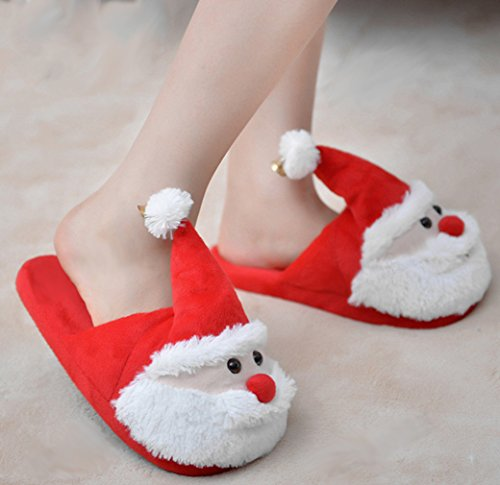EOZY Zapatillas de Casa Navidad Invierno Unisex o Adolescentes