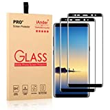 galaxy note 4 edge case ultra - iAnder [2-Pack] Galaxy Note 8 Screen Protector [3D Glass] [Full Screen Coverage Edge to Edge]Tempered Glass Screen Protector for Samsung Galaxy Note 8 - Black