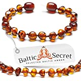 NEW Amber Teething Bracelet or Anklet 5.3 inch CGN.P-BRQ