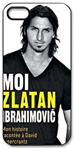 Zlatan Ibrahimovic Signed HD image case cover for iphone 5 black A Nice Present by runtopwell