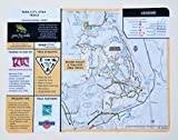 MapCloth - Park City Utah Mountain Bike and Hiking Trails Map