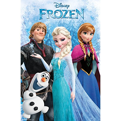 Trends International RP13539 Frozen Group Poster, 22 by 34-Inch]()