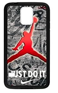 Hoomin Cool Air Michael Jordan Design Samsung Galaxy S5 Cell Phone Cases Cover Popular Gifts(Laster Technology)