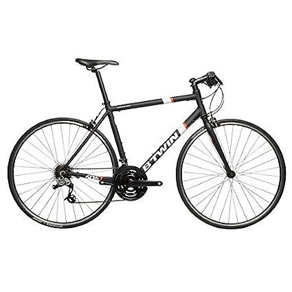 B'twin Triban 500 Flat Bar Road Bike - Black (S): Amazon in
