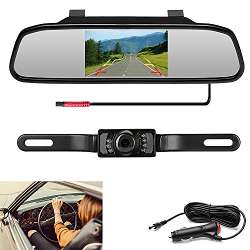 Color Lcd System - Podofo Backup Camera with 4.3