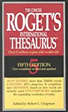 Concise Roget's International Thesaurus, Roget, 0673997065
