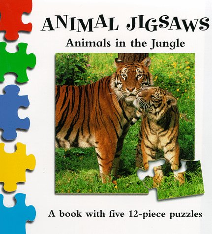 Wild Animals in the Jungle (Animal Jigsaw)