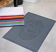 Kit Com 5 Toalhas de Piso Lara - 45x75cm - Central Toalhas (Cores Masculinas)
