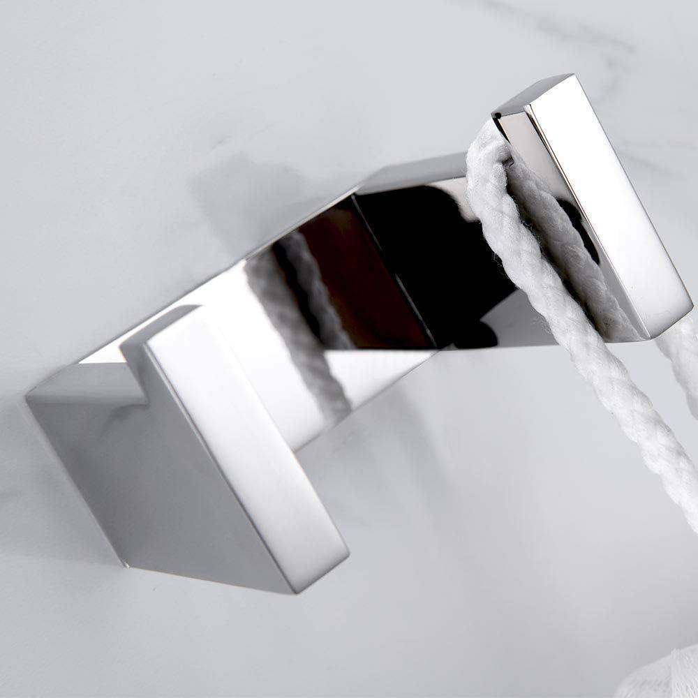 Handtuchhaken Handtuchhalter Schwarz Finish,Selbstklebend Handtuchring Melairy Badzubeh/ör einschlie/ßlich Toilettenpapierhalter