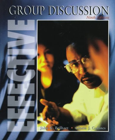 Effective Group Discussion, 9th Edition
