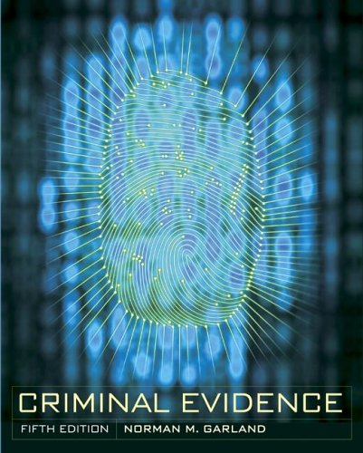 Criminal Evidence by McGraw-Hill Humanities/Social Sciences/Languages