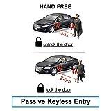 BANVIE PKE Car Alarm System with Passive Keyless