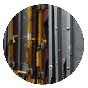 alfombrilla de ratón Mensaje de contenedores - ronda - 20cm