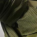 YAOBAO Filet De Camouflage, Filet Tactique en Filet Camo Écharpe Sniper Voile, Camouflez Votre Cou, Votre Visage Et… 14