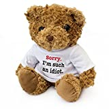 Adorable teddy bear. Size 8 inches / 20cm. This adorable traditional brown teddy bear is made with super soft fluffy fur perfect to cuddle up to, full of character and with a friendly face, this bear makes a thoughtful gift. This teddy bear is new an...