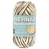 Spinrite Handicrafter Cotton Yarn, 340gm, Ombres and Prints, Chocolate
